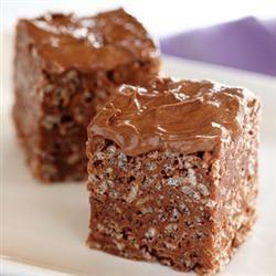 Frosted Chocolate Peanut Butter Treats Allrecipes.com