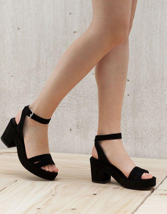 Zapatos - Mujer - Novedades - Bershka España  b87178e647a0