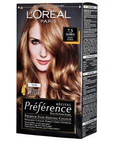 loreal hårfarve karamel