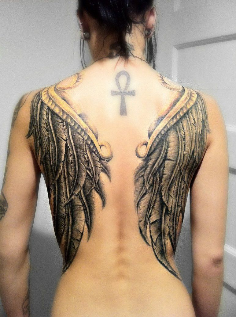 tattoo power ankh pictures to pin on pinterest | viking tattoo