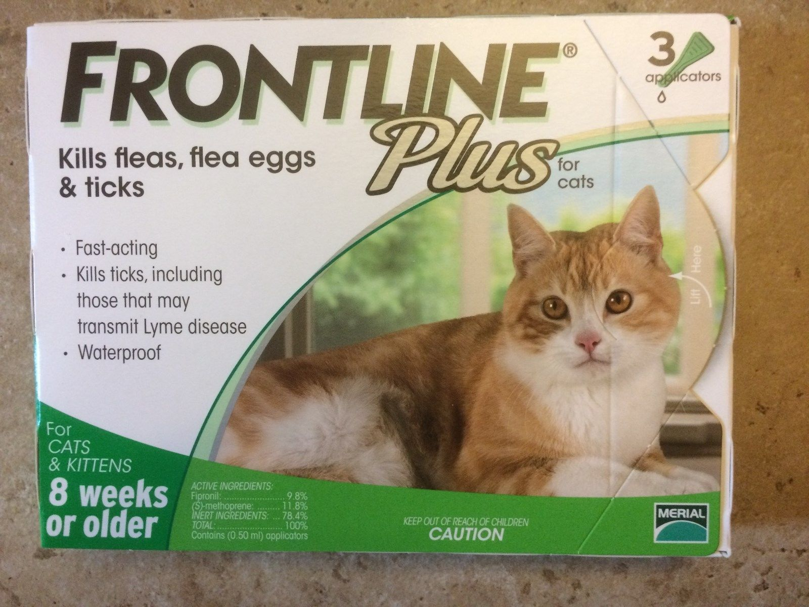 Fast Free Shipping With Tracking Usually Ships Within 1 Business Day After Confir Frontline Plus For Cats Cats And Kittens Tick Treatment For Cats