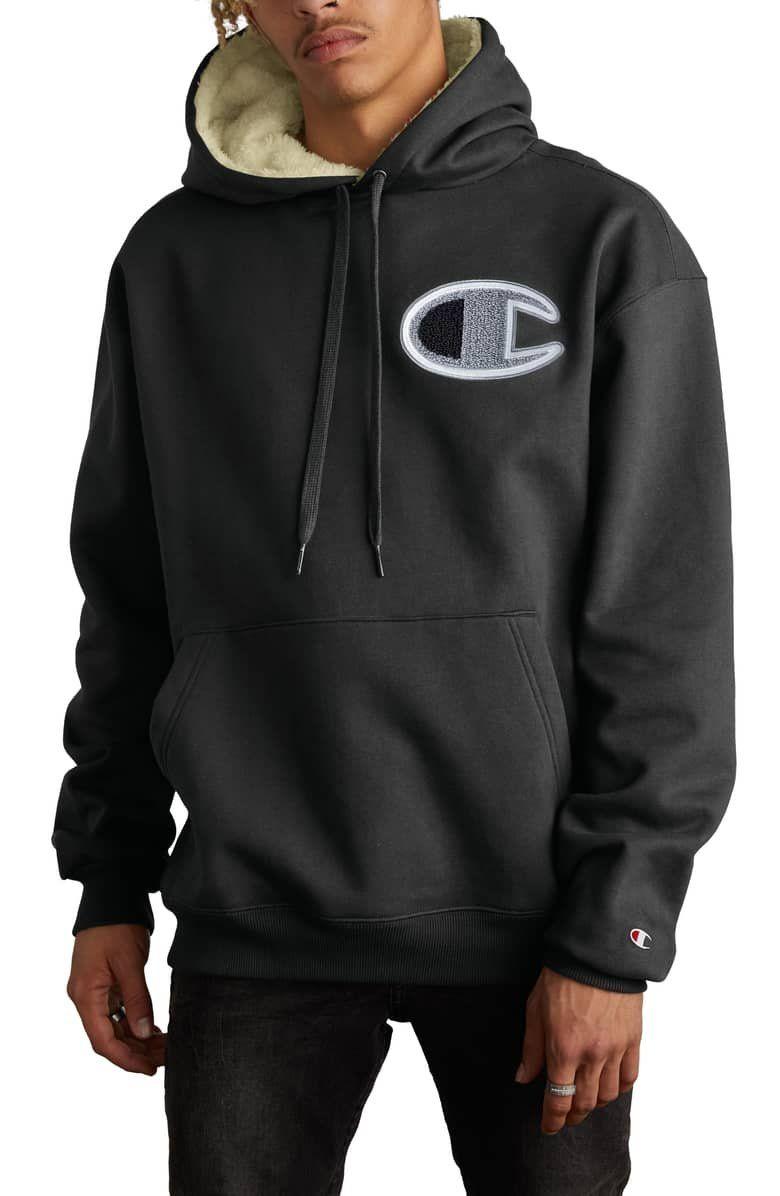Champion Fleece Lined Hoodie Nordstrom Fleece Lined Hoodie Mens Sweatshirts Hoodies [ 1196 x 780 Pixel ]
