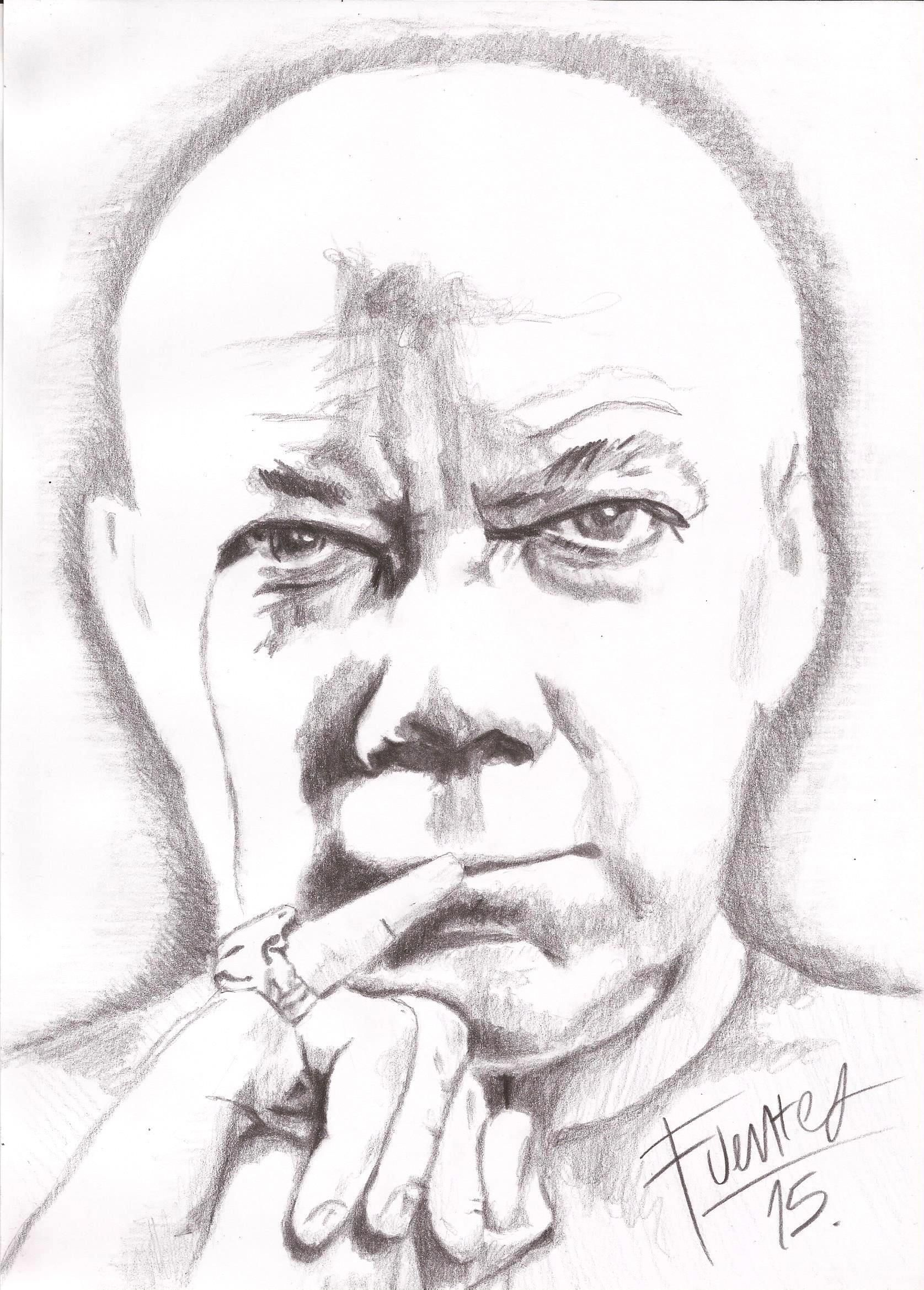 Juan Manuel Santos Colombia Juan Malito Pencil Drawing Dibujo A Lapiz Drawing Lapiz