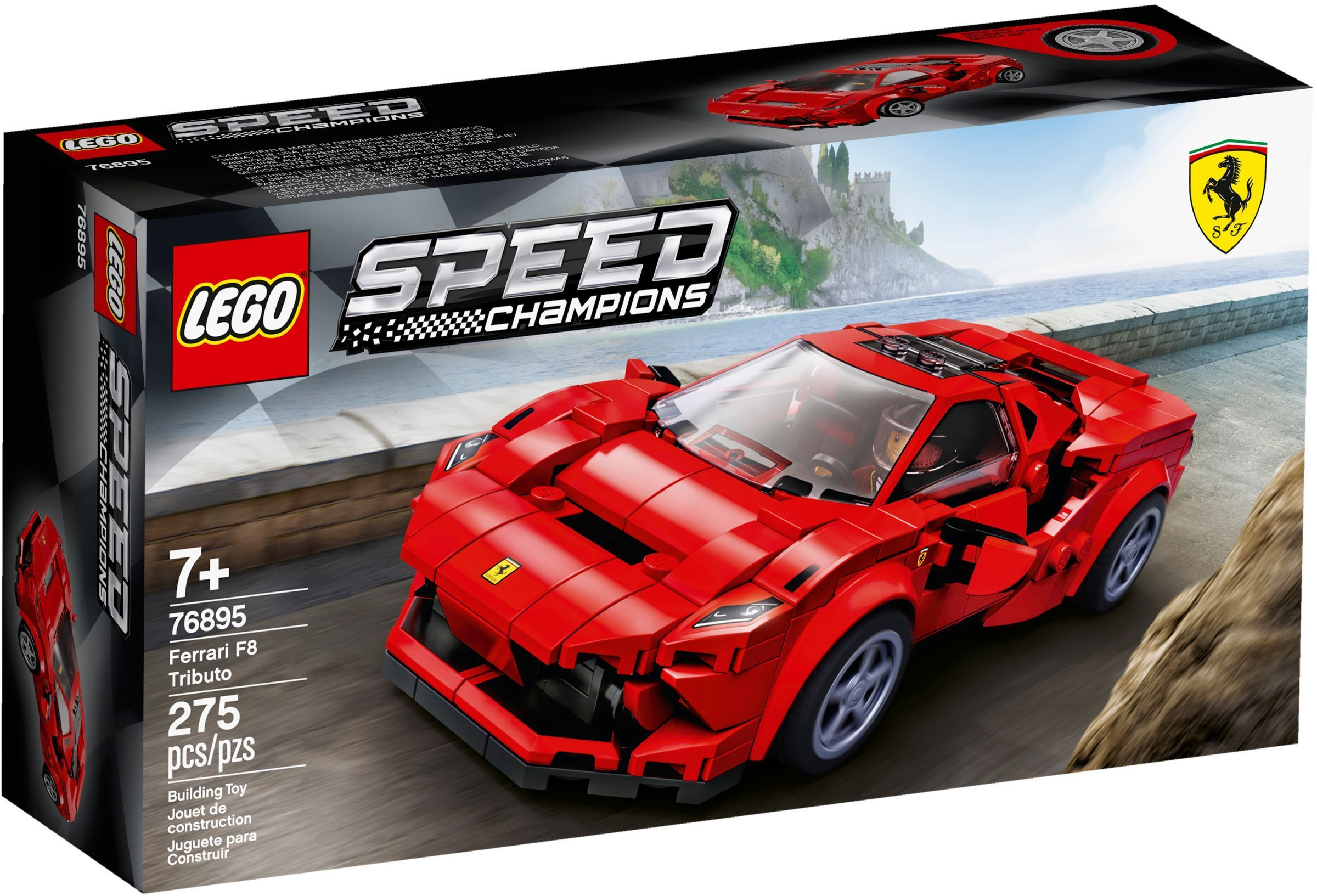 Lego Speed 76895 Ferrari F8 Tributo Lego Speed Champions Toy Model Cars Toy Cars For Kids