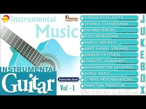 Instrumental Guitar Vol 1 Evergreen Malayalam Film Songs Youtube Film Song Songs Music Songs