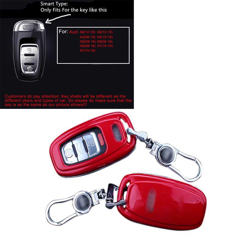 Smart Key Case Car Key Shell Case Holder Cover Decor Trim
