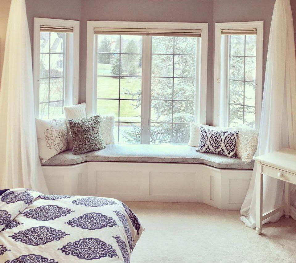 9 Summer Color Trends To Inspire You This Season Bedroom Window Seat Bay Window Living Room Window Seat Design