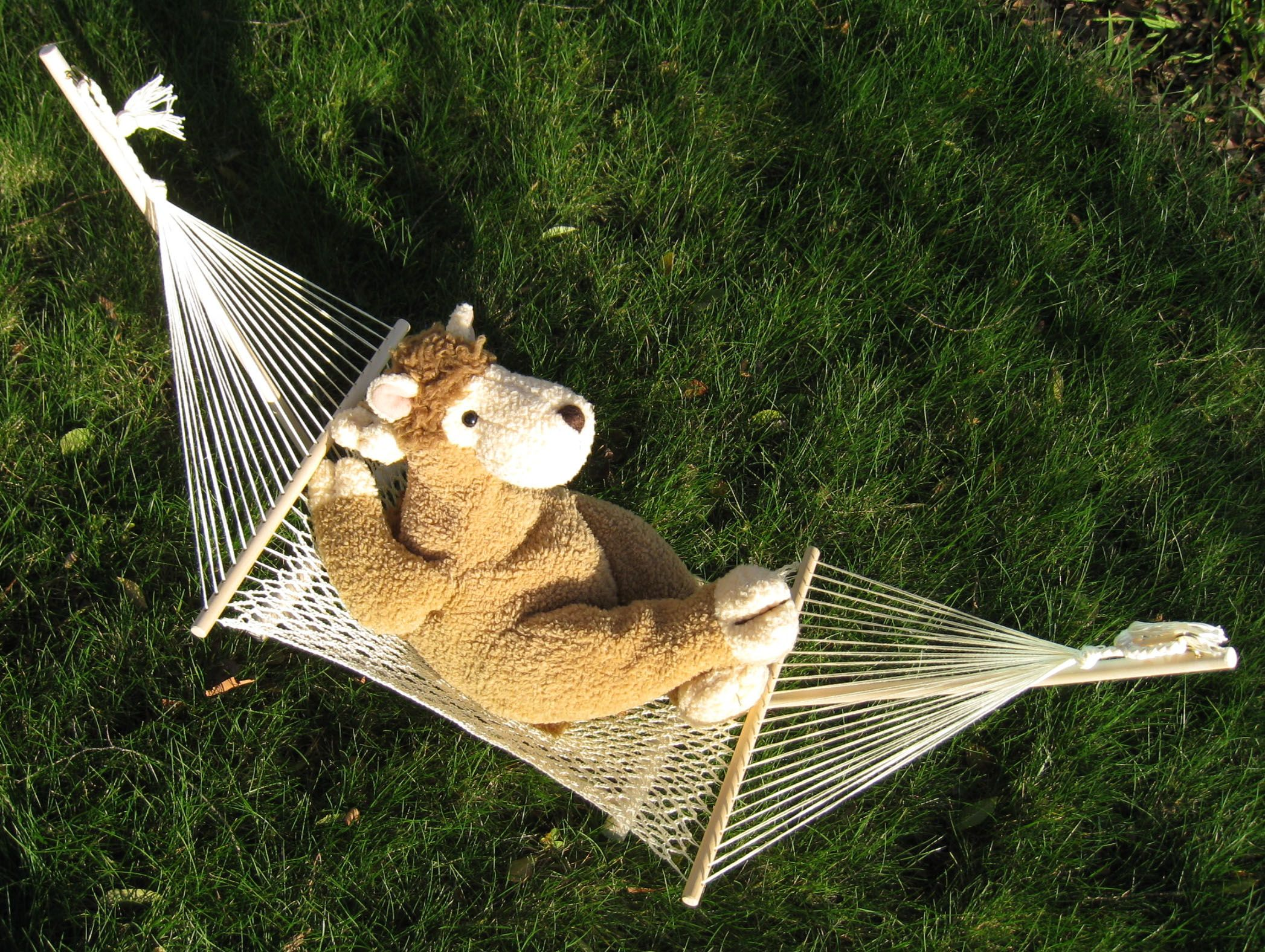 Crochet A Toy Hammock