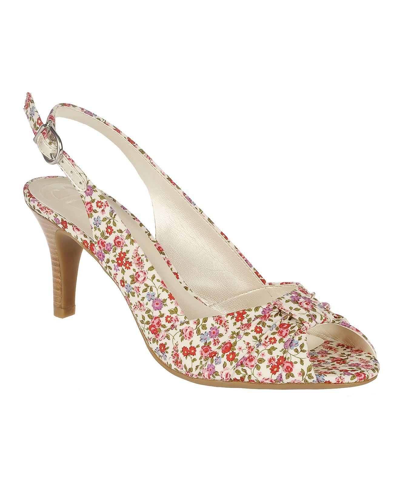Etienne Aigner Shoes - Osbert Slingback Pumps @ Macy's $69.00