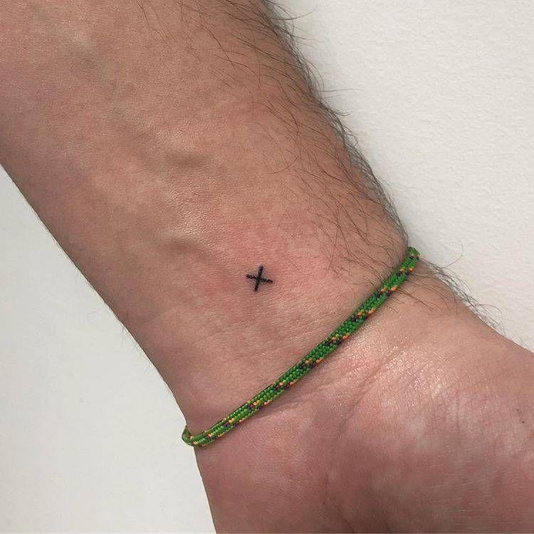Tiny Letter X Tattoo X Tattoo Small Girl Tattoos Inner Wrist