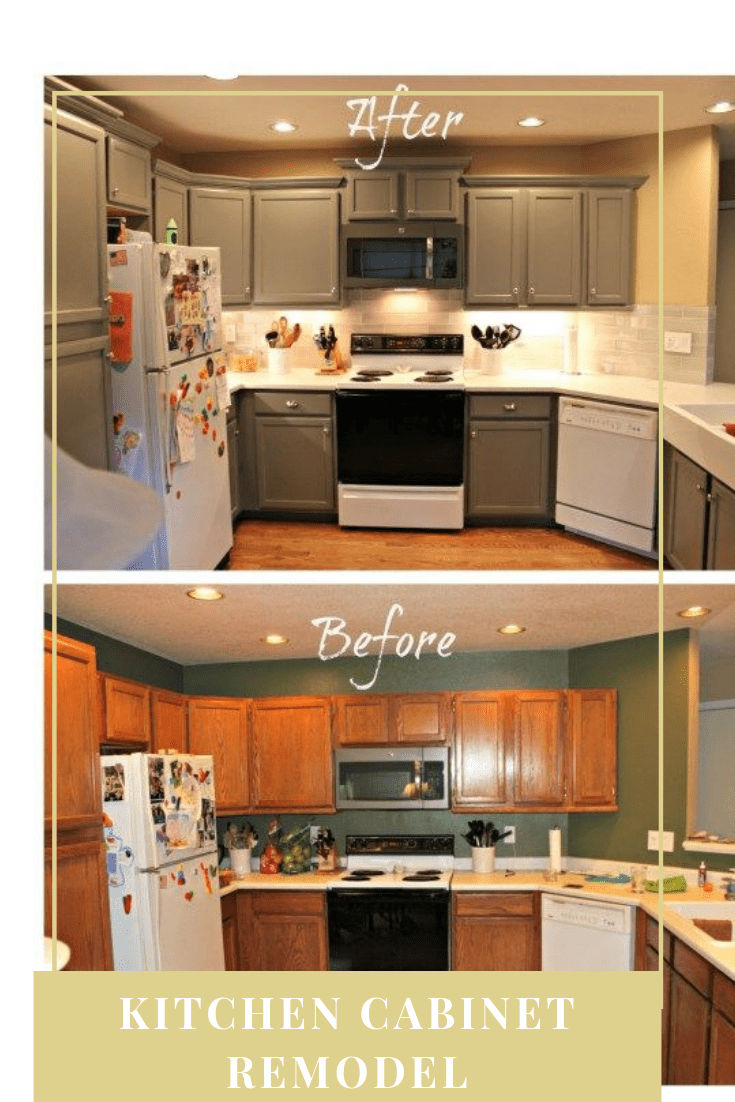Kitchen Remodel Before And After Wall Removal In 2020 Kitchen Cabinet Remodel Kitchen Remodel Cheap Kitchen Remodel