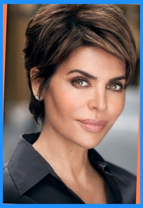 lisa rinna short hairstyles Intended for Aspiration