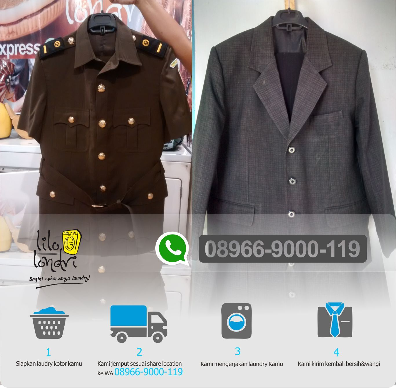 Laundry Gaun Di Semarang Lilo Londri Online 08966 9000 119 Kami