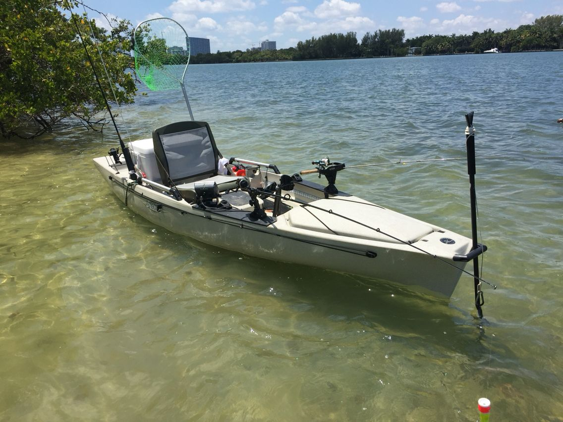 My pro angler fishing pinterest hobie pro angler and for Kayak accessories for fishing