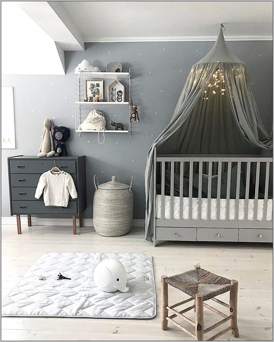 Chambre Deco Bebe Garcon Ton Gris In 2020 Unisex Baby Room