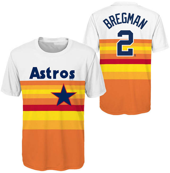 new styles ac517 b2949 Outerstuff Alex Bregman Houston Astros Coop Poly Player T ...