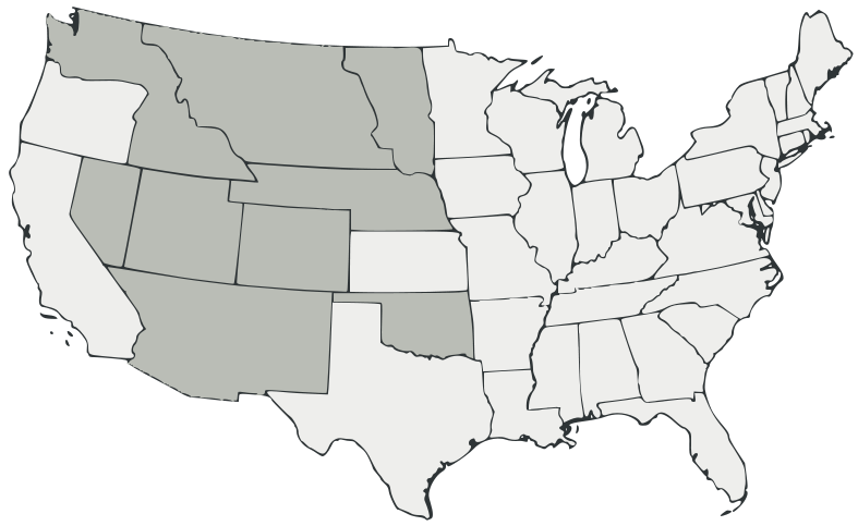 blank map of the united states | Description Historical ...