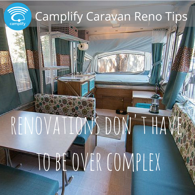 Simple Caravan Renovation Not Complex Camping Pinterest Caravan Renovation Caravan Ideas: diy caravan interior design ideas