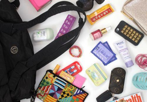 Gym bag essentials!