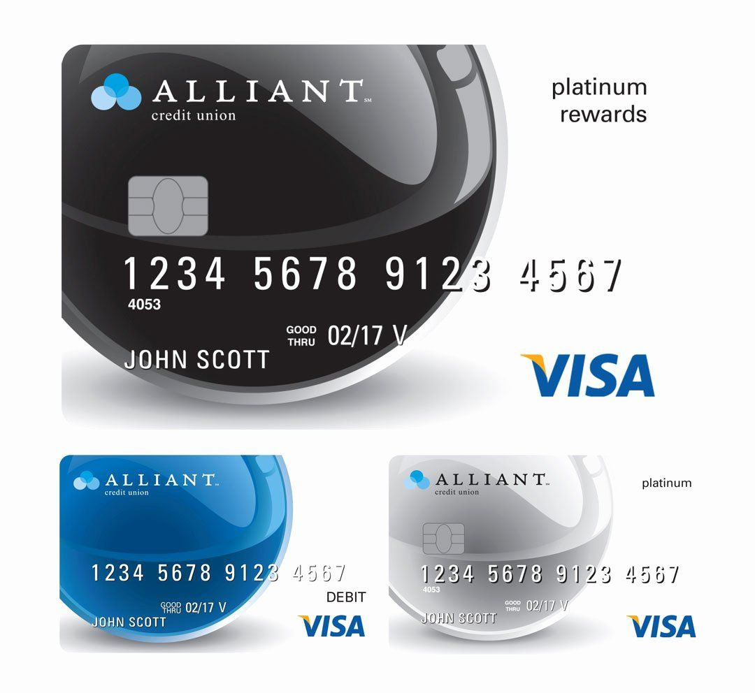 Cool Debit Card Designs Lovely Alliant Credit Union Credit Card Designs The Financial Brand In 2020 Debit Card Design Credit Card Design Discover Credit Card
