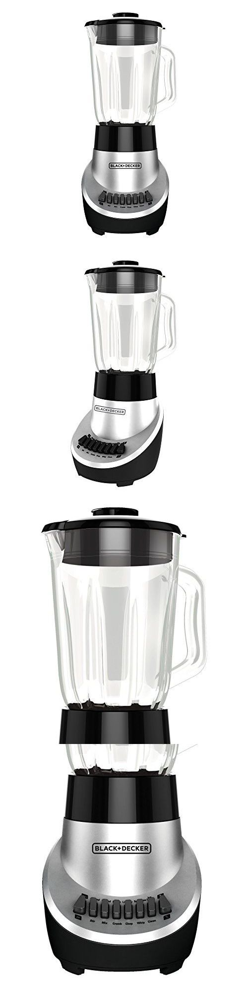 Countertop Blenders 133704 Black Decker Bl1130sg Fusionblade