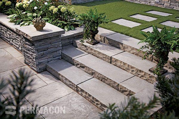 marche en b ton pour grand escalier ext rieur de la maison pinterest grand escalier. Black Bedroom Furniture Sets. Home Design Ideas