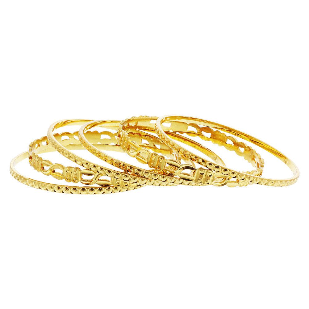 wedding pcs from bridal item in combination plated color thin eu for gold free delicate style jewelry women classical bangles classic