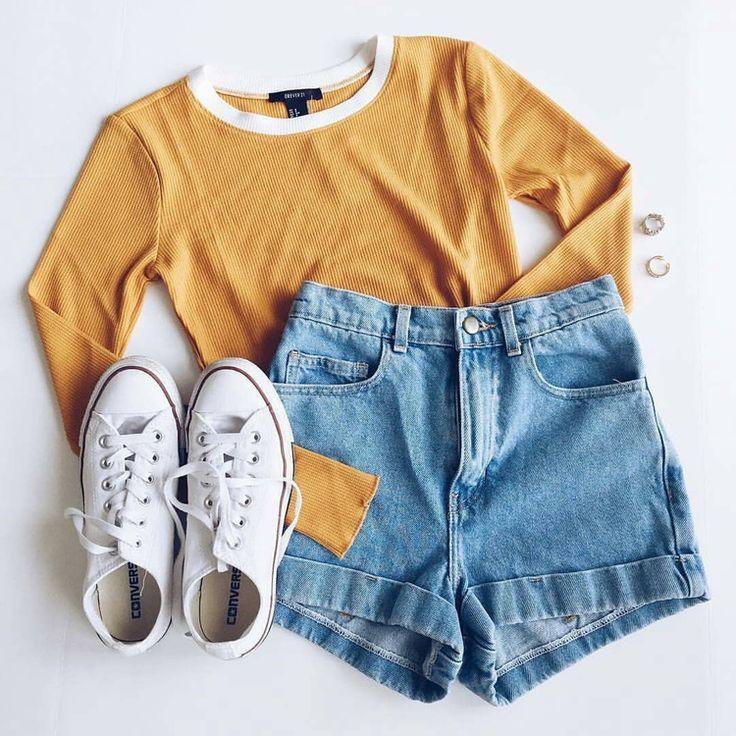 Outfit Pinterest / / Carriefiter / / 90er Jahre Mode Street Wear Street Style Foto ... #fashionwear