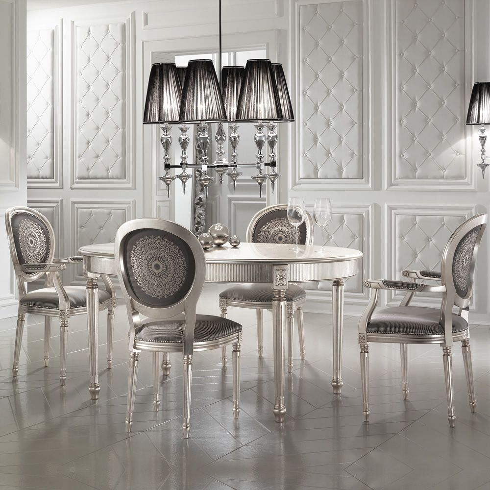 15 High End Contemporary Dining Room Designs: High End Champagne Louis Dining Chair In 2020