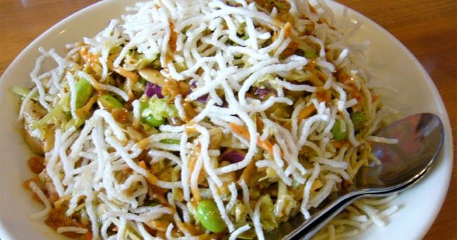California Pizza Kitchen\u0027s Thai Crunch Salad Copycat Recipe Serves 4
