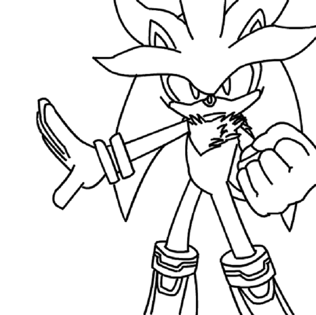 Silver Hedgehog Coloring Pages For Kids