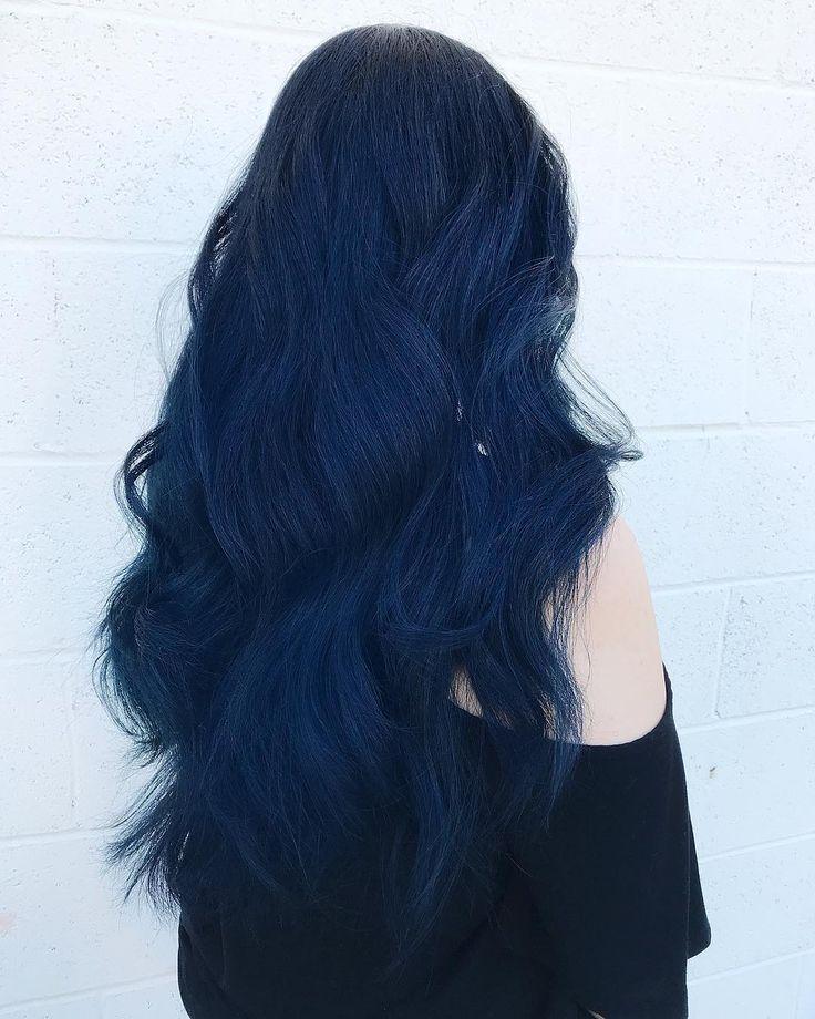 36++ Dark smokey blue hair ideas in 2021