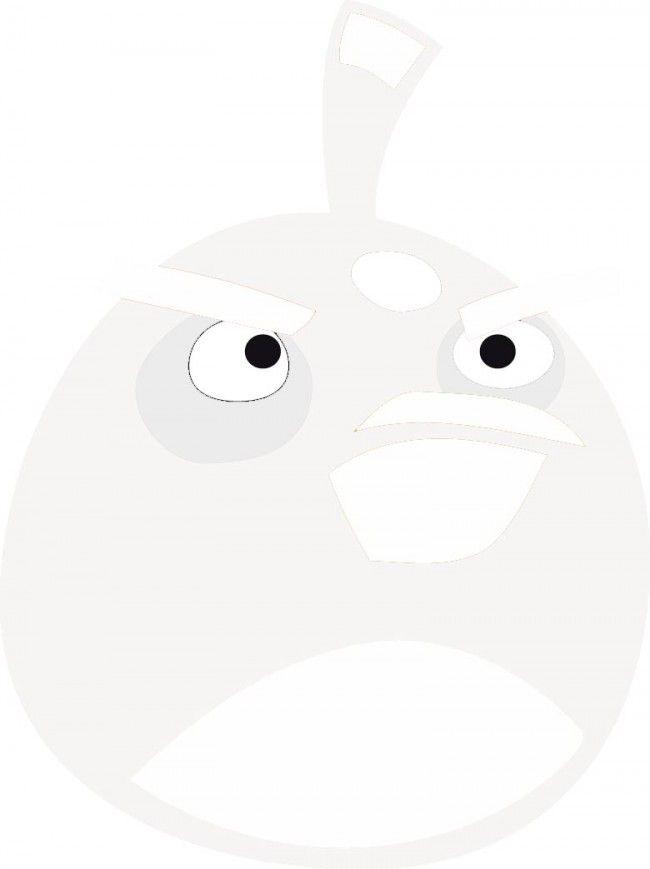 Angry bird para repasar y colorear   Angry Birds   Pinterest   Colorear