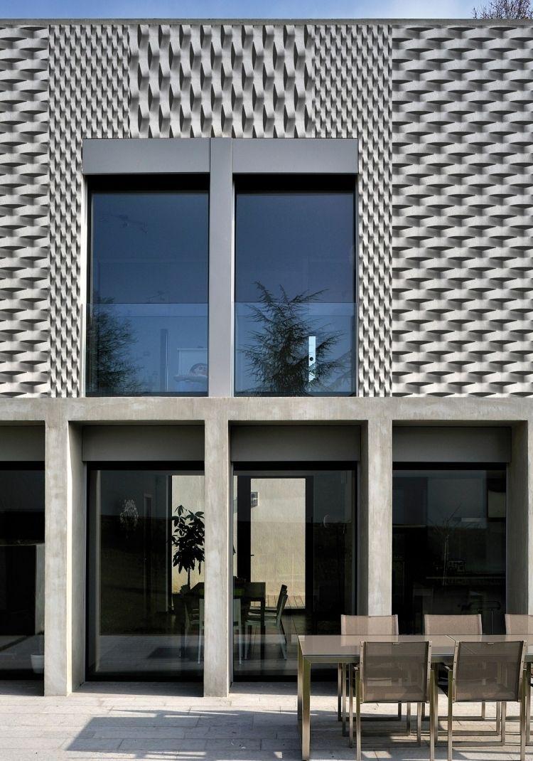 3D Effekt und Struktur von der Hausfassade - mit Out System | Ideen ...