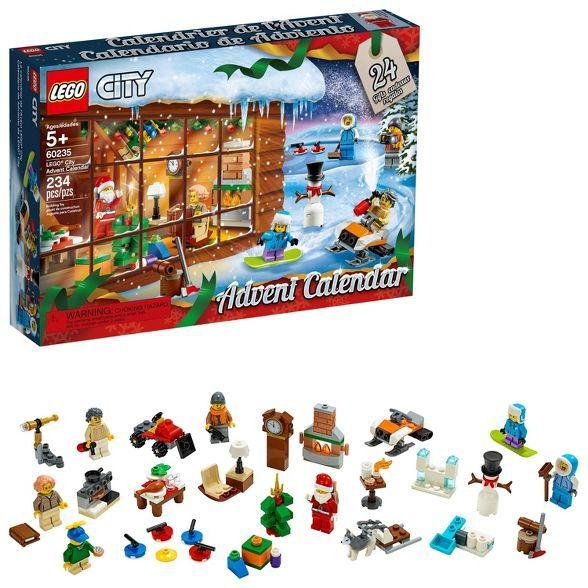 Lego City Advent Calendar 60235 Lego City Advent Calendar Lego