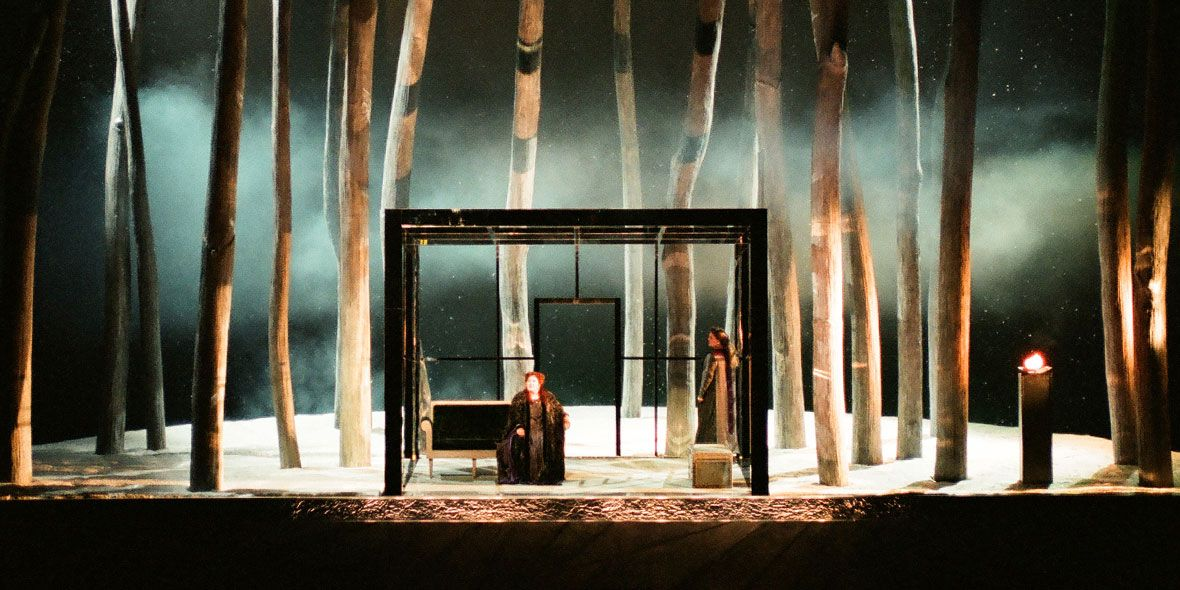 Tristan und Isolde (Act 2, Scene 1). Seattle Opera. Scenic