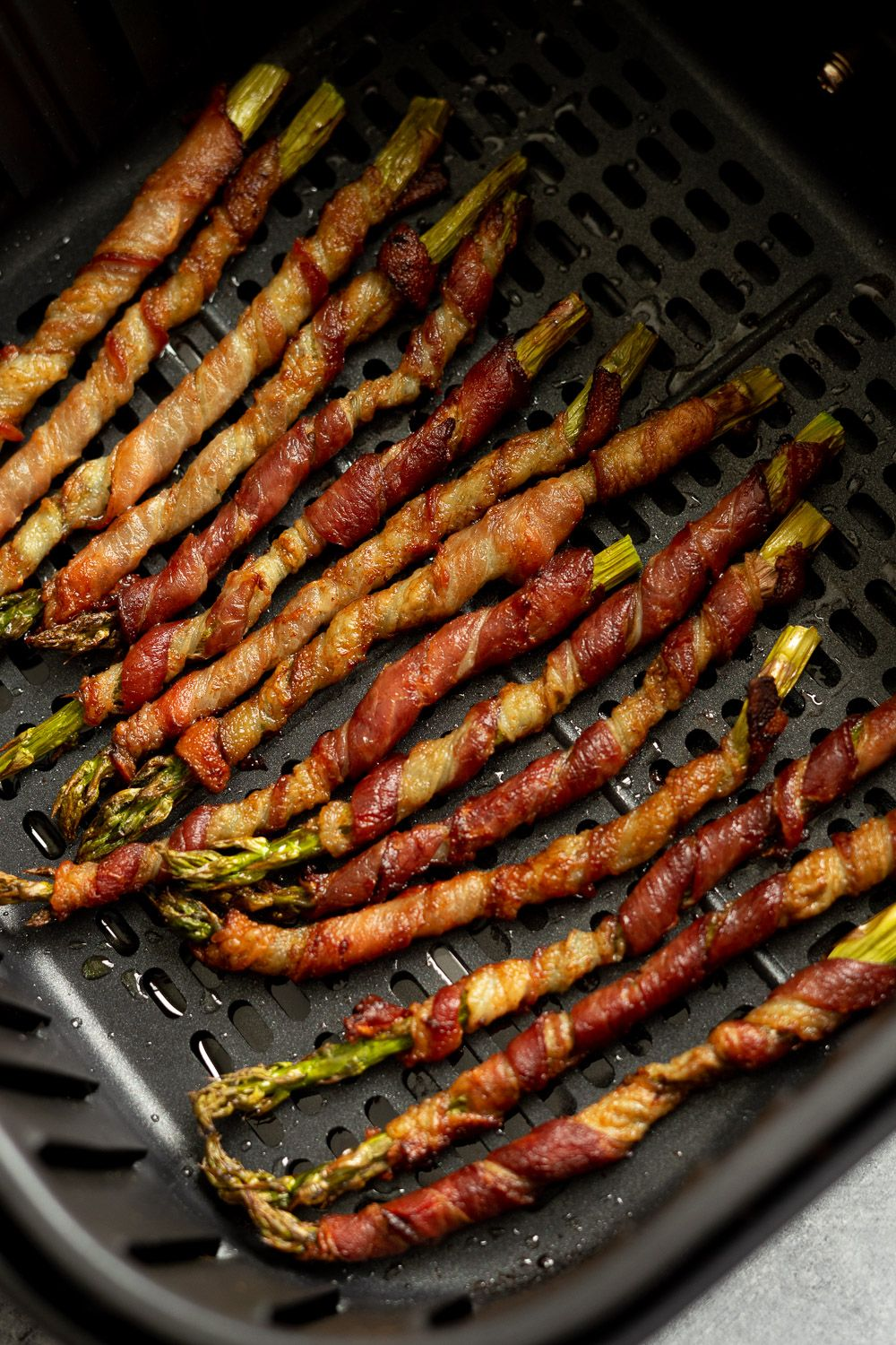 Bacon Wrapped Asparagus Air Fryer Recipe