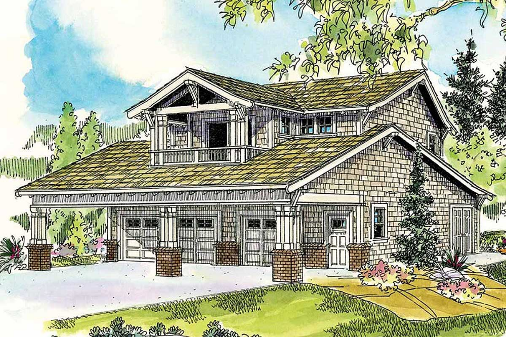 Plan 72649da Bungalow Garage With Guest Apartment In 2021 Bungalow Style House Plans Bungalow House Plans Bungalow Style
