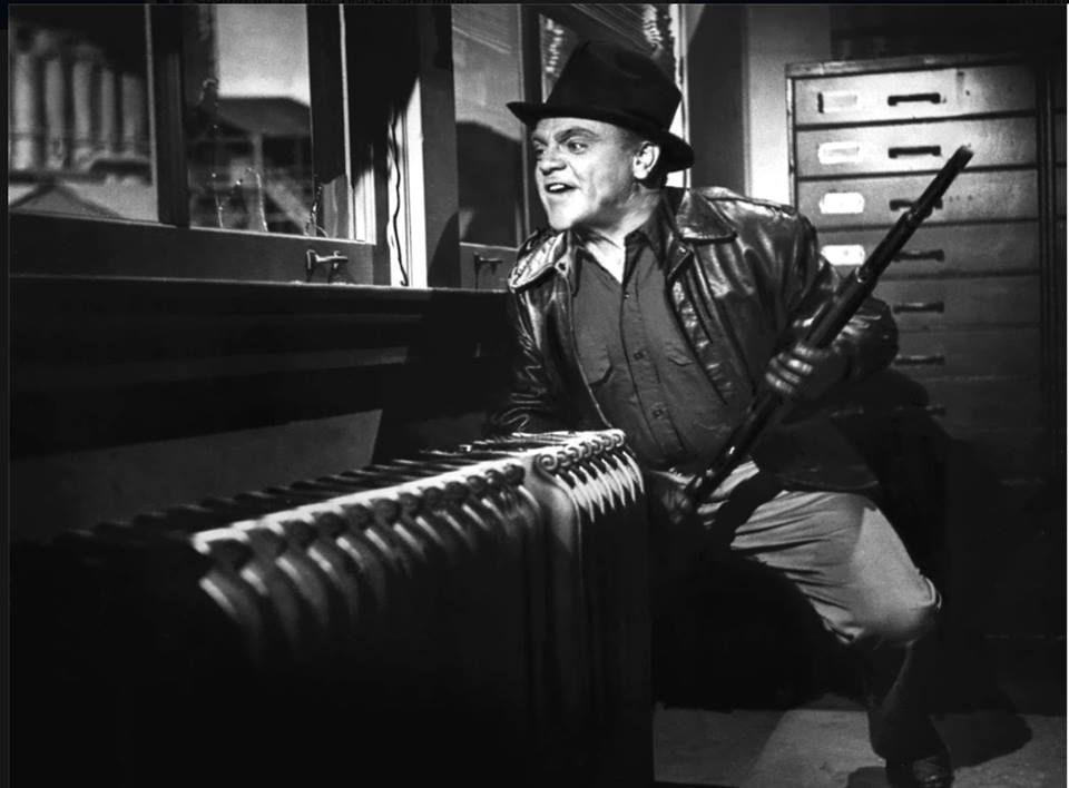 "Come and get me coppers!"" James Cagney as Cody Jarrett in WHITE HEAT 1949 