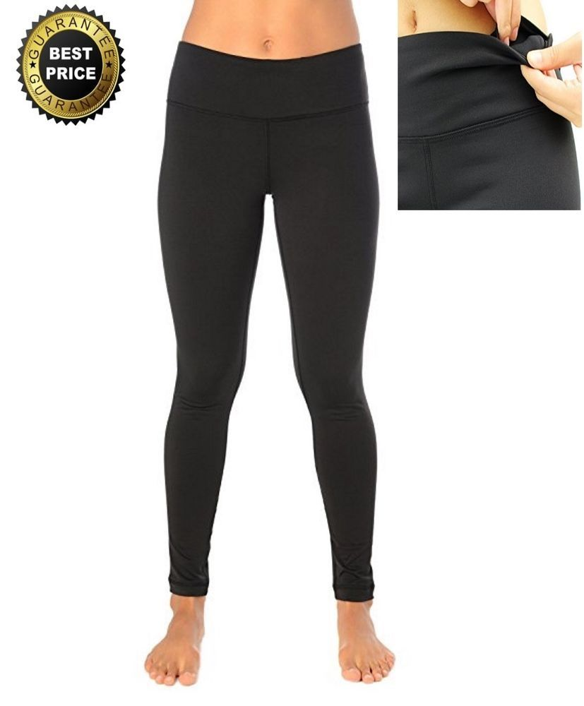 9f8497d18e250 90 Degree By Reflex Fleece Lined Leggings Yoga Pants Black Medium FREE SHIP  New #90DegreeByReflex #womens