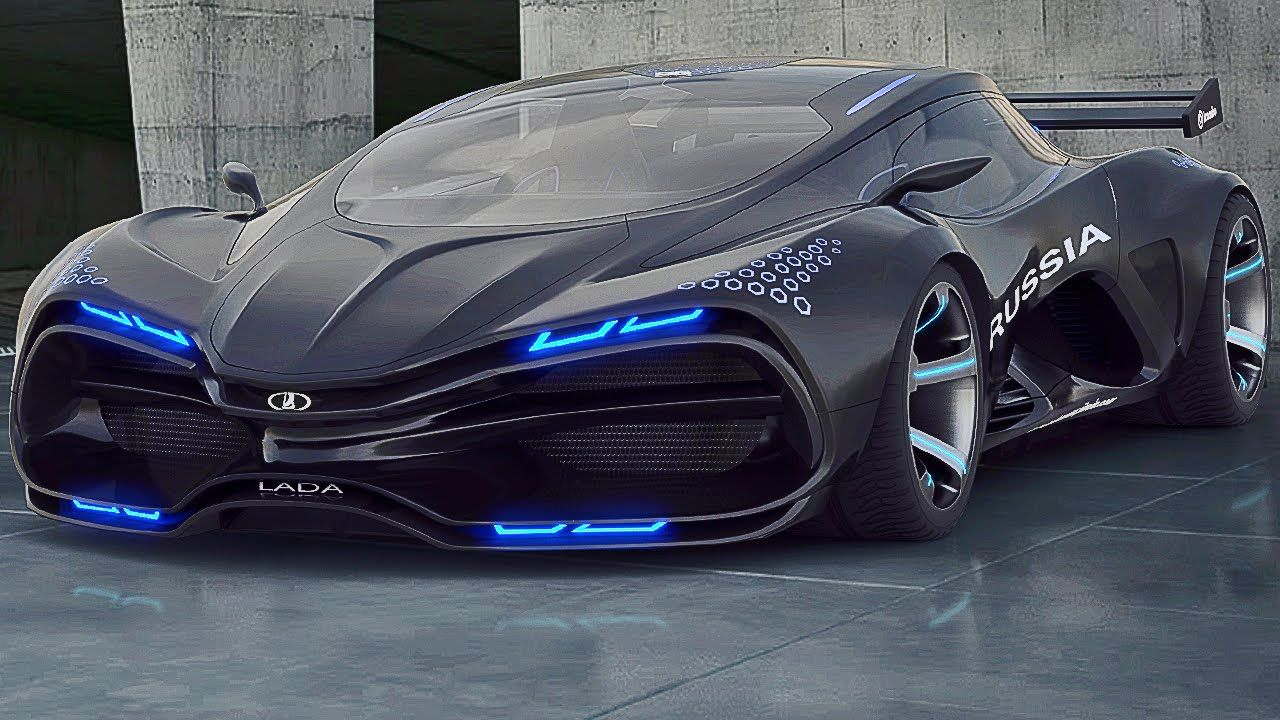 Supercar Designer Finds Manufacturer For Lada Of His Dreams Super Cars Futuristic Cars Sports Cars