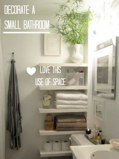 7 Ways To Add Storage To A Small Bathroom That's Pretty Too Prepossessing Ways To Decorate A Small Bathroom Inspiration