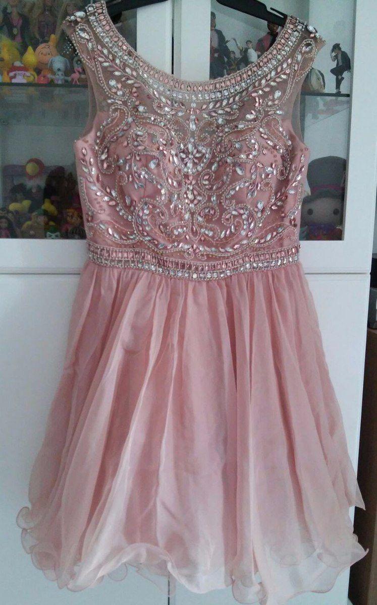 Blush pink homecoming dresshomecoming dressesbeading homecoming