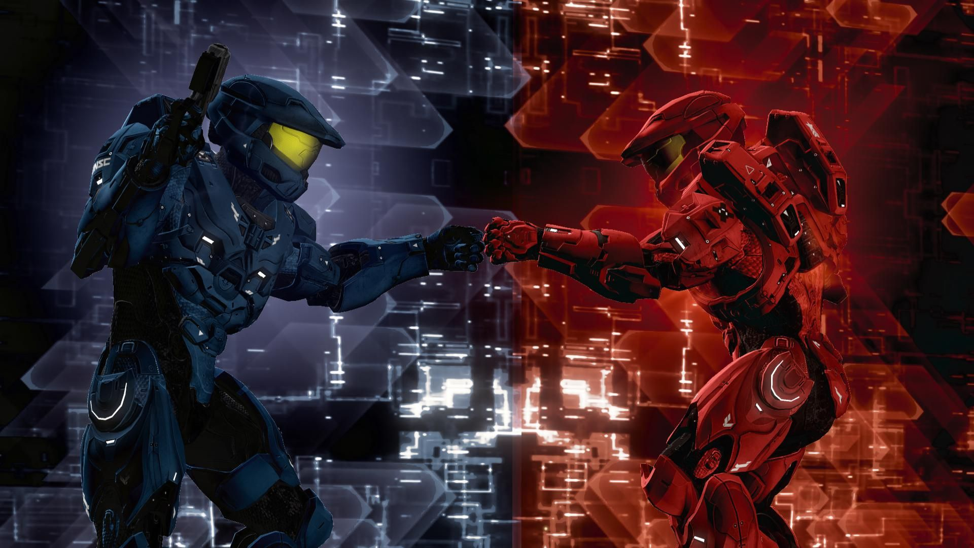 Http Halofanforlife Com Wp Content Uploads 1 8 14 09 Jpg Red Vs Blue Cool Wallpapers For Pc Blue Wallpapers