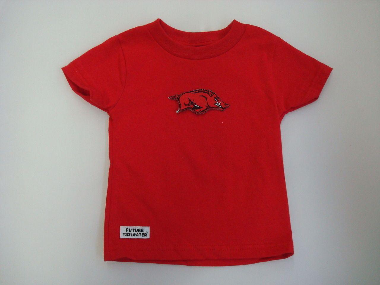 7f9eeef53 Clothing Dresses & Skirts Future Tailgater Arkansas Razorback Baby Onesie  Dress DHM Kids