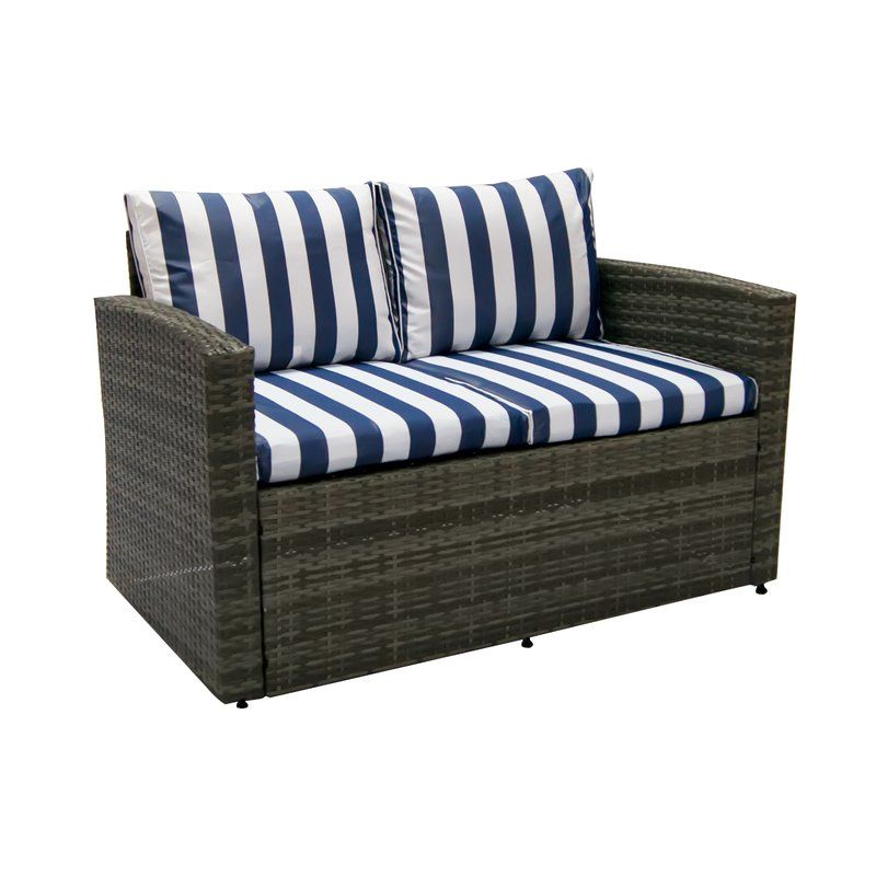 Best Arlington 6 Piece Rattan Sofa Seating Group With Cushions 640 x 480