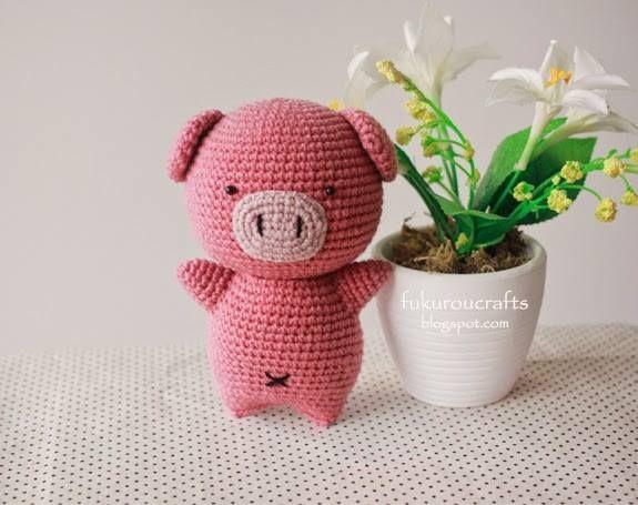 Tutorial Amigurumi Cerdito : Pin by the friendly red fox crochet patterns on crochet amigurumi