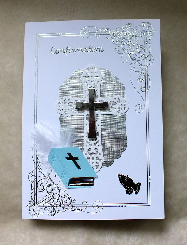 Confirmation Handmade Card Confirmation cards, Cards