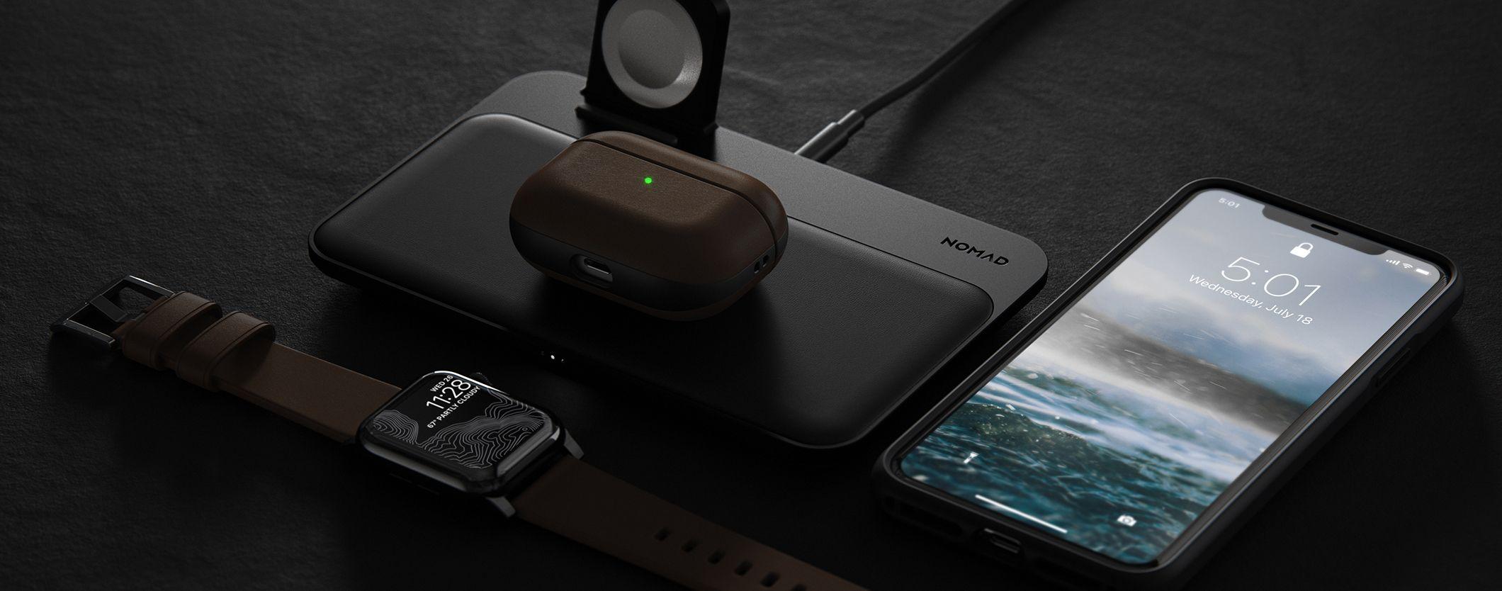 Accessory Spotlight Nomad Base Station Apple Watch Edition Apple Watch Edition Rugged Leather Airpods Pro