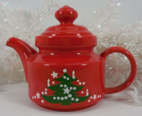 Waechtersbach christmas tree tea pot west germany | Tea pots ...